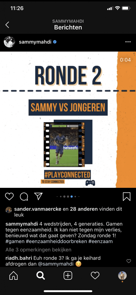 Foto van Instagram Post Sammy Mahdi Gaming
