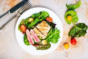 Foto Gezonde Nudge Salade