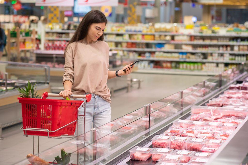 Nudging supermarkt