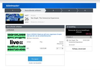 voorbeeld verliesaversie ticketmaster